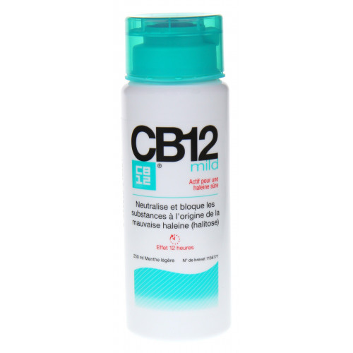Omega pharma cb 12 mild bain de bouche doux catgorie for Bain de bouche maison