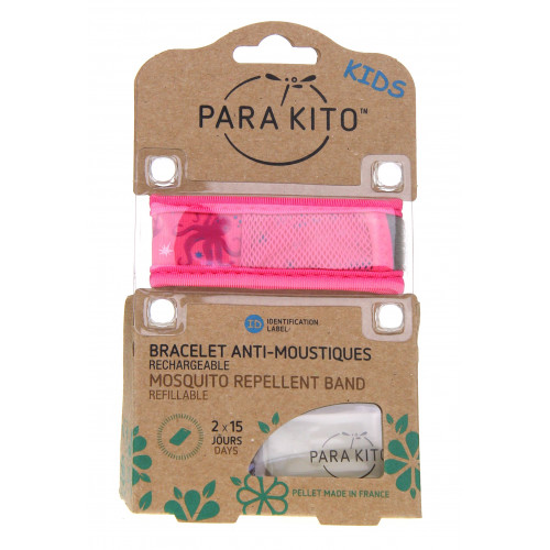 PARAKITO Bracelet Antimoustiques Kids Enfants