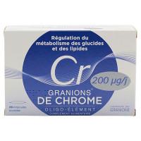 Granions Chrome 200µg/j 30 ampoules