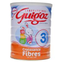 Guigoz Croissance Fibres lait 3ème...