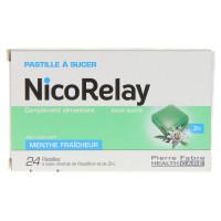 Nicorelay menthe fraîcheur sans...