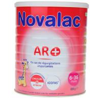 Novalac AR+ lait 2ème âge 800g