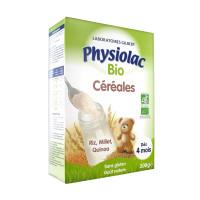 Physiolac Bio Céréales Dès 4 mois...