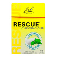 Rescue 25 chewing-gums menthe...
