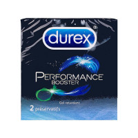 Préservatifs Performance booster...
