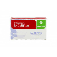 Aubépine infusion Mediflor 24 sachets