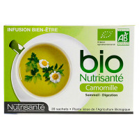 Infusion bio camomille 20 sachets