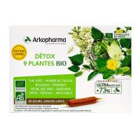 Arkofluides détox 9 plantes bio 20...