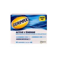 Gérimax Active l'Energie 30 comprimés