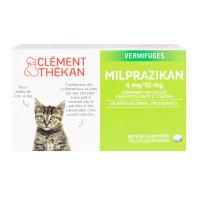2 comprimés Vermifuge Milprazikan...