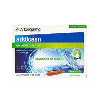 Arkocéan magnésium 20 ampoules
