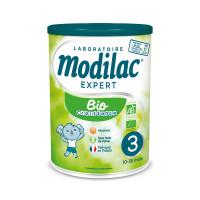 Bio 3ème âge lait 10 à 36 mois 800g