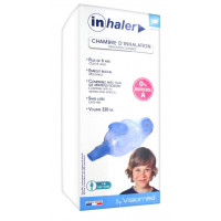 Inhaler Chambre d'Inhalation 6 Ans...