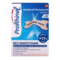 Original 30 bandelettes nasales...