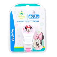 Attache-sucette ruban Disney Minnie