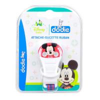 Attache-sucette ruban Disney Mickey