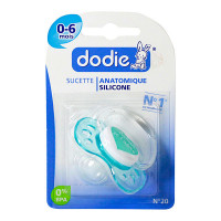 Sucette anatomique 0-6m n°20 silicone