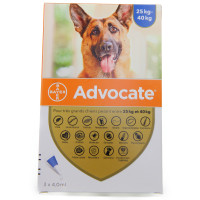 ADVOCATE SPOT-ON S ext chien +...