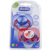 2 Sucettes Anatomiques Silicone...
