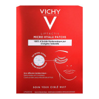 Liftactiv micro hyalu 2 patchs yeux