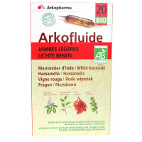 Arkofluides Jambes Légères Bio