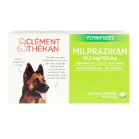 2 comprimés Milprazikan chiens 5kg+
