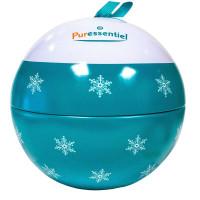 Coffret boule de Noël vert