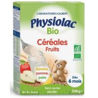 PHYSIOLAC BIO CÉRÉALES FRUITS 200 G