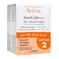 Xeracalm AD pain nettoyant 2x100g