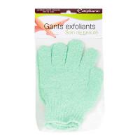 2 gants exfoliants 100% polyamide...