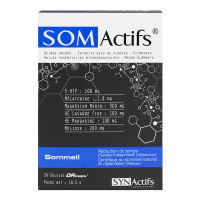 Somactifs 30 gélules