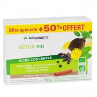 Arkofluides Détox Bio 20 Ampoules...