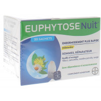 Euphytose nuit infusion 20 infusions