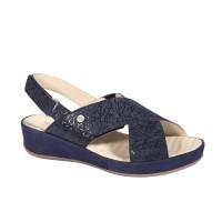 FABIA Sandales Bleu Marine