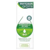 Huile Essentielle Citronnelle de Java (Cymbopogon winterianus) Bio 10 ml