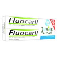 Junior Dentifrice 6-12 Ans Fruits Rouges Lot de 2 x 75 ml