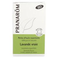Perles d'Huile Essentielle Lavande Vraie (Lavandula angustifolia) Bio 60 Perles