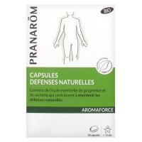 Aromaforce Capsules Défenses Naturelles Bio 30 Capsules