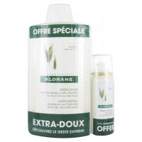 Shampooing Extra-Doux au Lait d'Avoine 400 ml + Shampooing Sec Extra-Doux au Lait d'Avoine 50 ml Offert