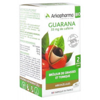 Arkogélules Guarana Bio 40 Gélules