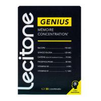 Lecitone Genius mémoire concentration 30 comprimés