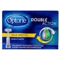 Solution oculaire double action yeux irrités 10 monodoses