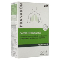 Aromaforce Capsules Bronches Bio 30 Capsules