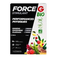 Force G bio performances physiques 20 ampoules