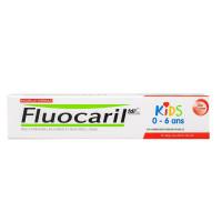 Kids 0-6 ans dentifrice gel fraise 50ml