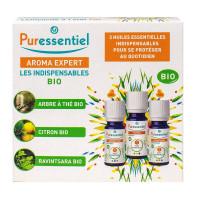 Coffret 3 produits Les indispensables bio