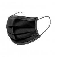 Masque Noir Usage Unique x 50 Masques