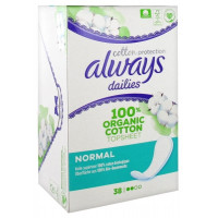 Dailies Cotton Protection Normal 38 Protège-Slips