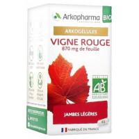 Arkogélules Vigne Rouge Bio 45 Gélules