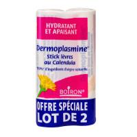 Dermoplasmine sticks lèvres calendula 2x4g